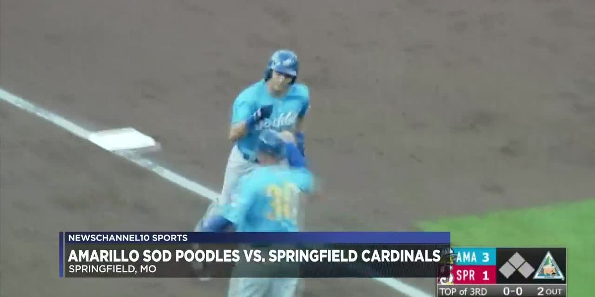 Sod Poodles defeat Cardinals 9-6 in Game 2 of series