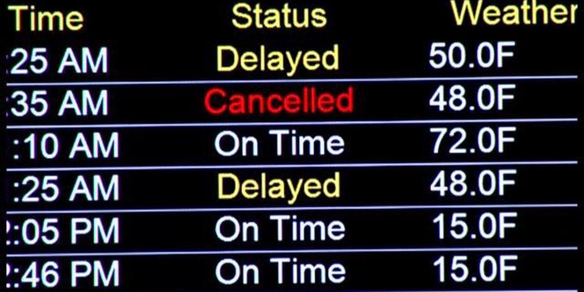 Emergency landing at Rick Husband International Airport