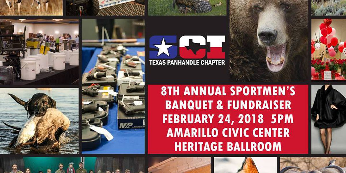 2018 Fundraiser for Texas Panhandle Chapter of Safari Club happening this week