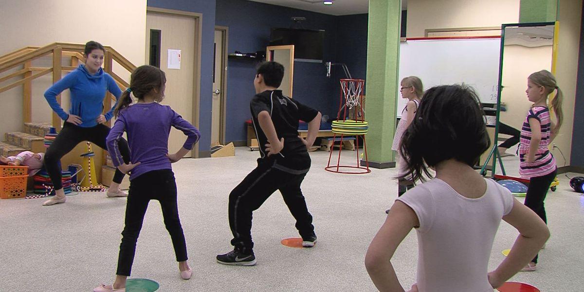 Special needs children express themselves through dance