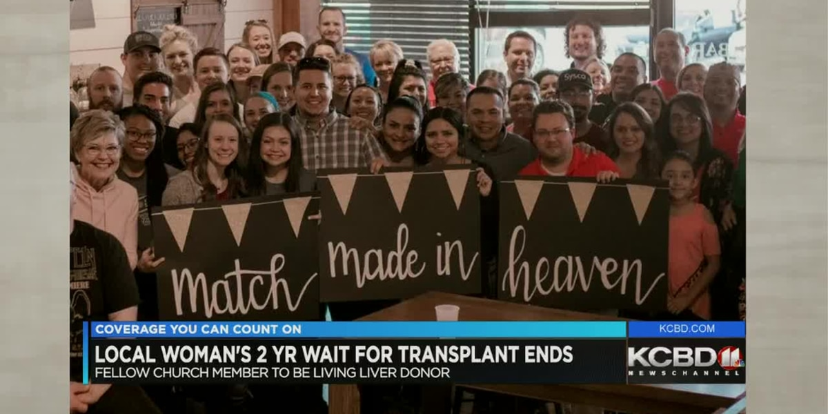 "Lubbock woman finds her ""match made in heaven"" after two years on liver transplant list"