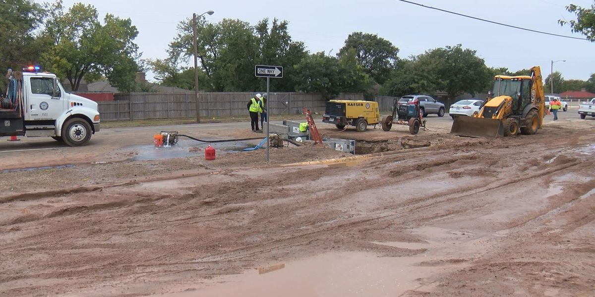 Water main break at 34th and Bell repaired, water to be back on this evening