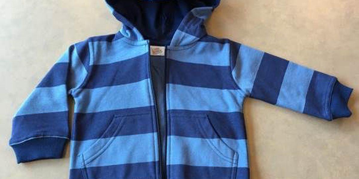 RECALL ALERT: Fred Meyer recalls children's hooded sweatshirts and girls bomber jackets