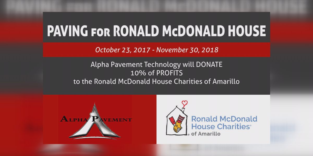 Local businessman donates 10% of profits to Amarillo's Ronald McDonald House