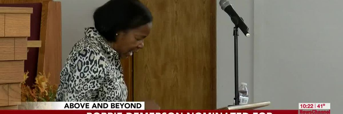 Above and Beyond: Pastor's wife making an impact beyond the church doors