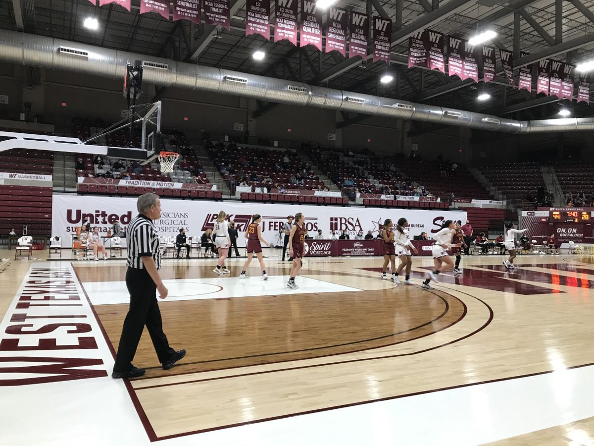 WT Lady Buffs win in rematch against Midwestern State