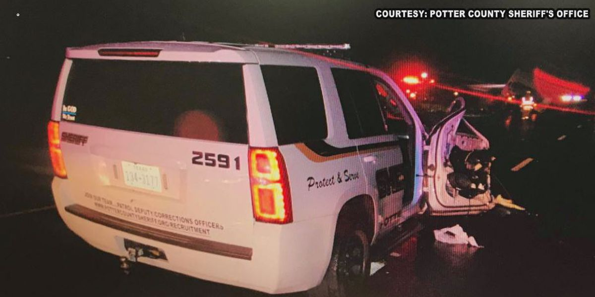 Deputy barely escapes injury when drunk driver smashes into patrol vehicle