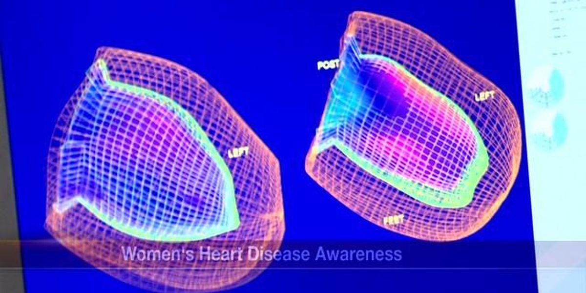 American Heart Association raises awareness for women's heart disease