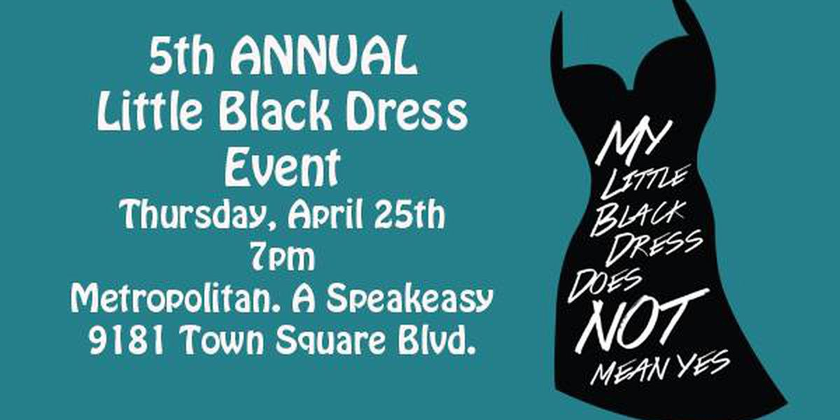 Family Support Services and Metropolitan hosting 5th Annual 'My Little Black Dress Does Not Mean Yes' event