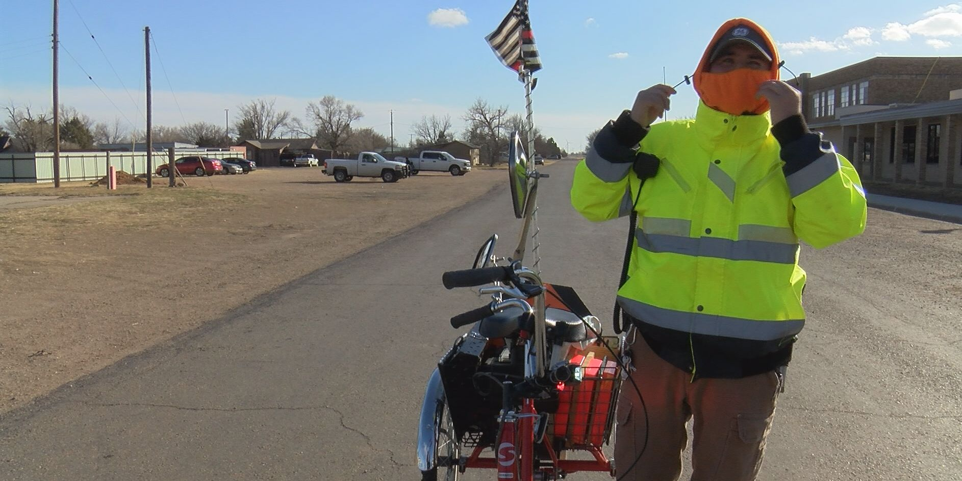 Legally blind man serves Silverton in more ways than one