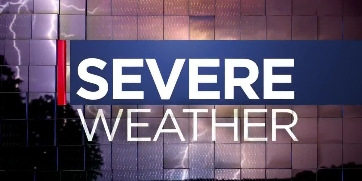 FIRST ALERT: Doppler Dave has a severe weather update at 5:45 p.m.