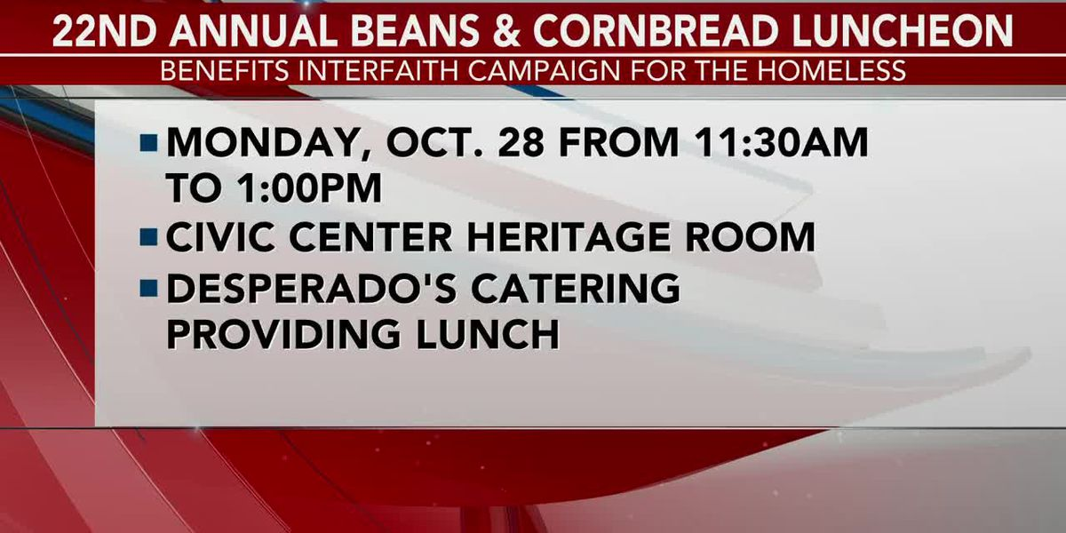 INTERVIEW: Check out the 22nd Annual Beans & Cornbread Luncheon