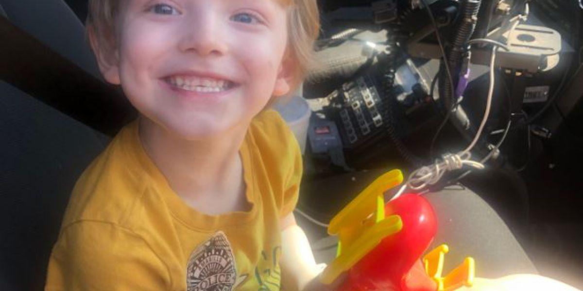 Amarillo Police need your help locating a lost boy's family
