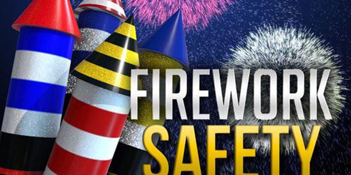 Fireworks safety- be safe, have a blast!
