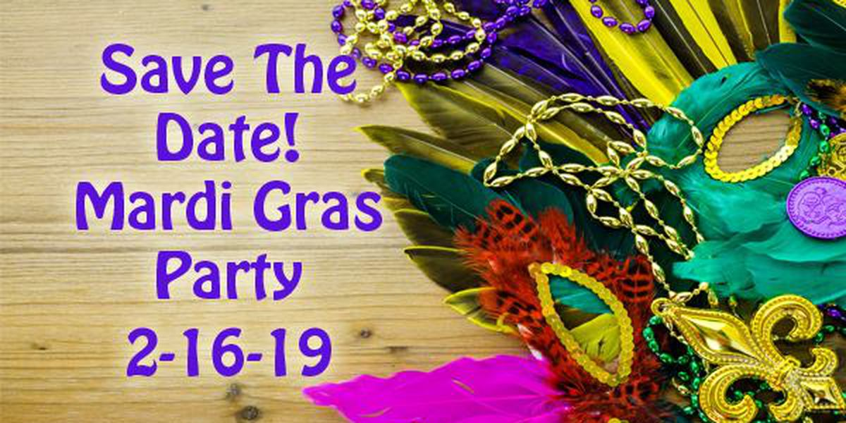 Tickets available for Family Support Services Mardi Gras Party