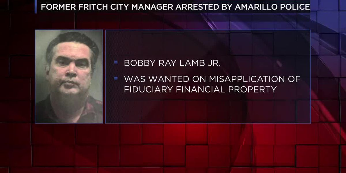 VIDEO: Former Fritch city manager arrested for financial crimes