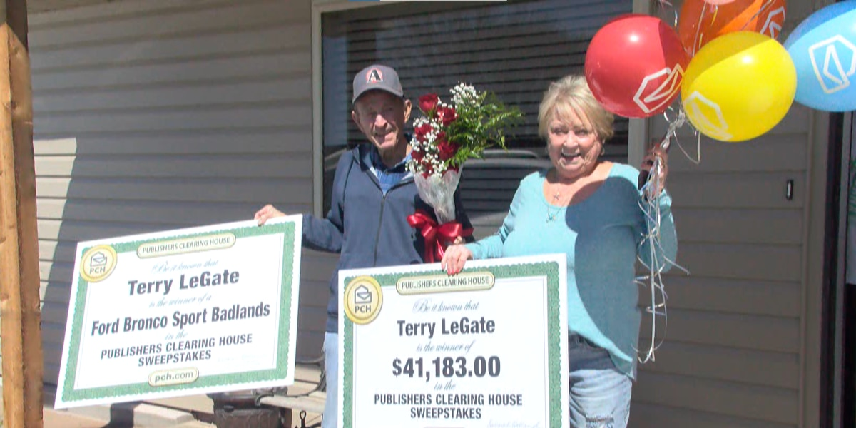 Panhandle man wins sweepstakes after nearly 40 years of entering daily