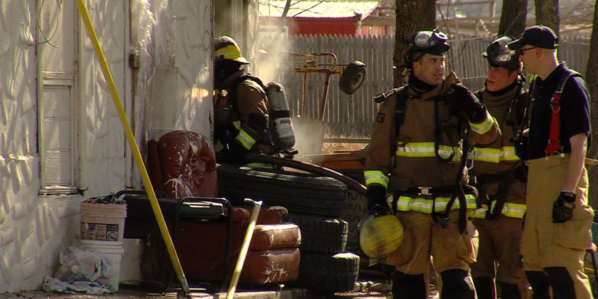 Firefighters face challenges in cold weather