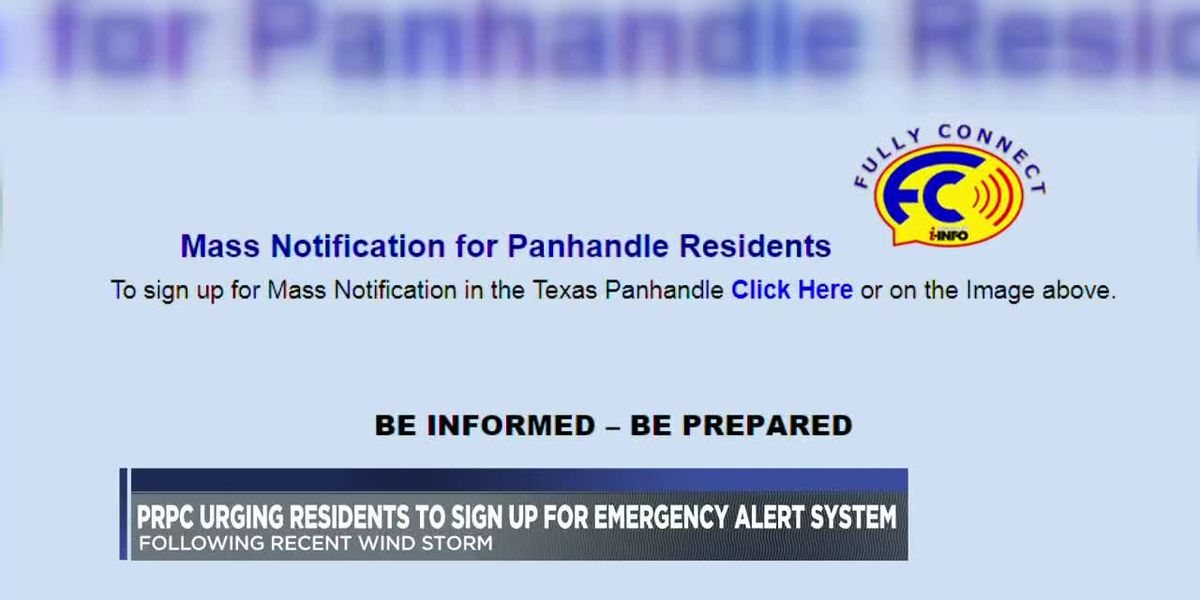 Area officials urge residents to sign up for emergency alert system