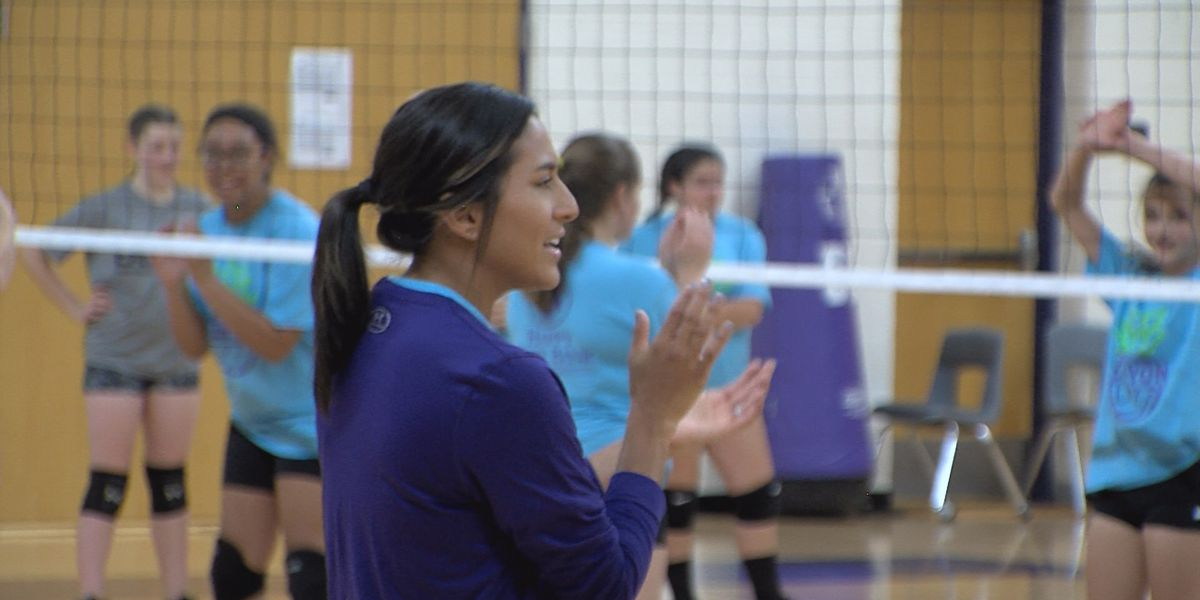 Canyon volleyball wraps up summer camp for incoming freshman