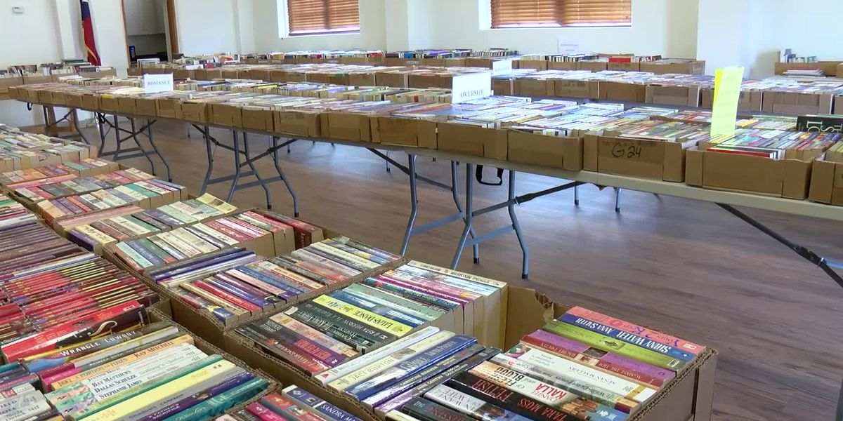 Turning a page for a good cause: Hutchinson Co. Library kicks off book sale to fund children's readi