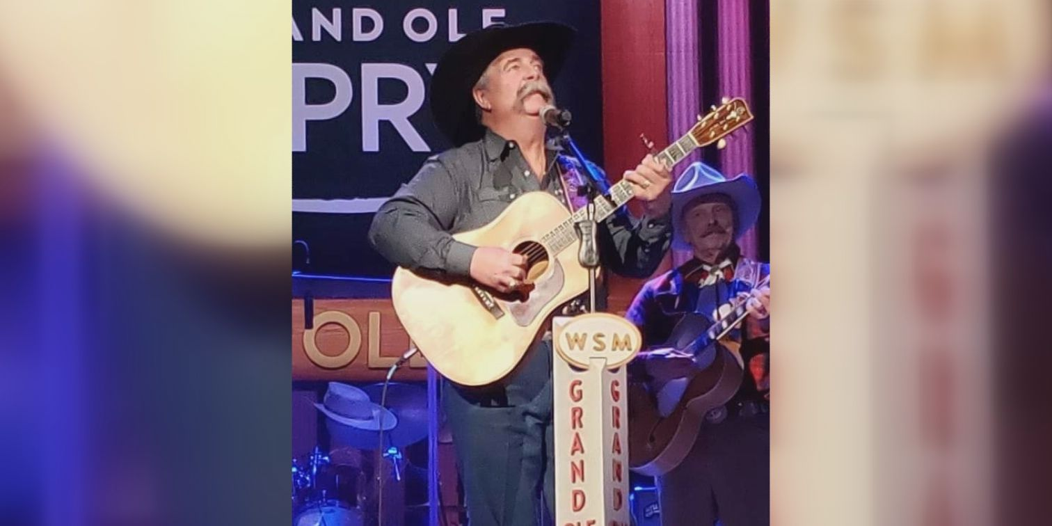 Ed Montana graces the stage of the Grand Ole Opry