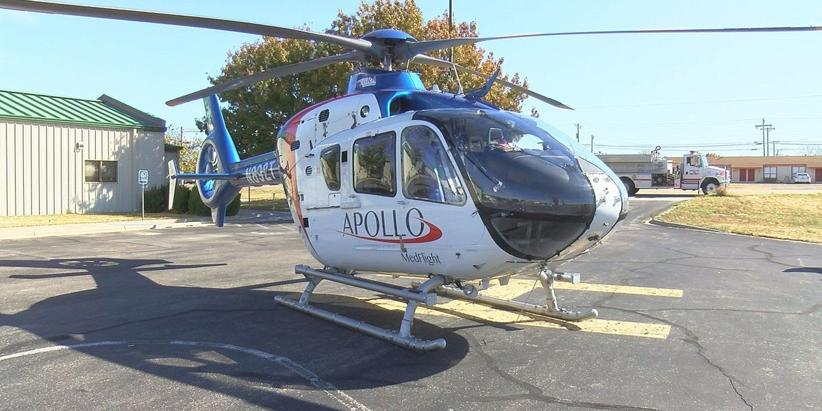 New helicopter helping decrease response time in Hutchinson County