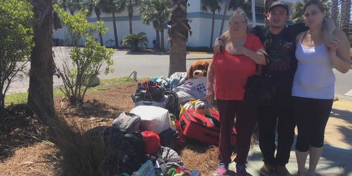 Family faces homelessness in aftermath of Hurricane Michael