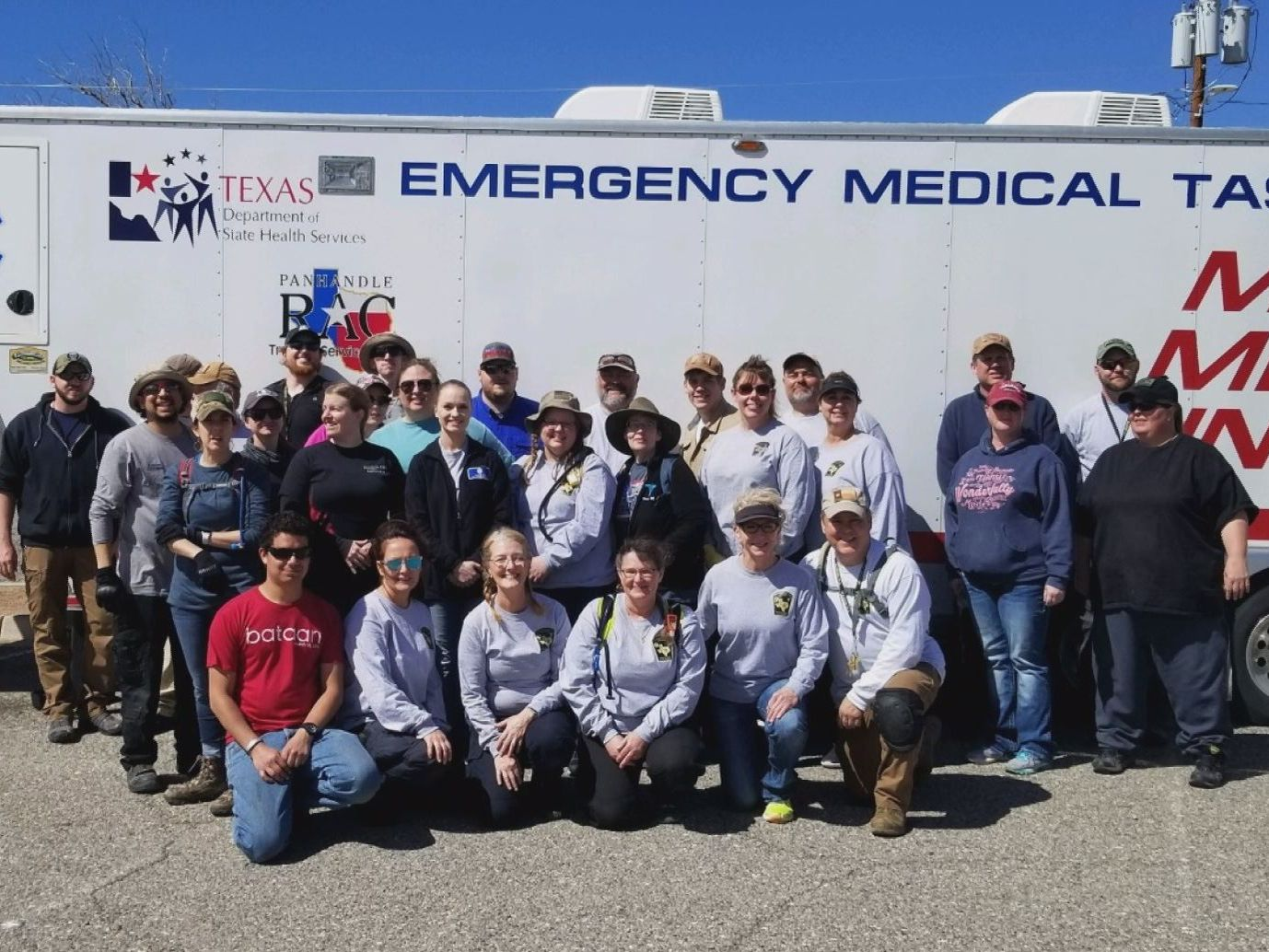 Emergency Medical Task Force 1 members return home from march in southern New Mexico