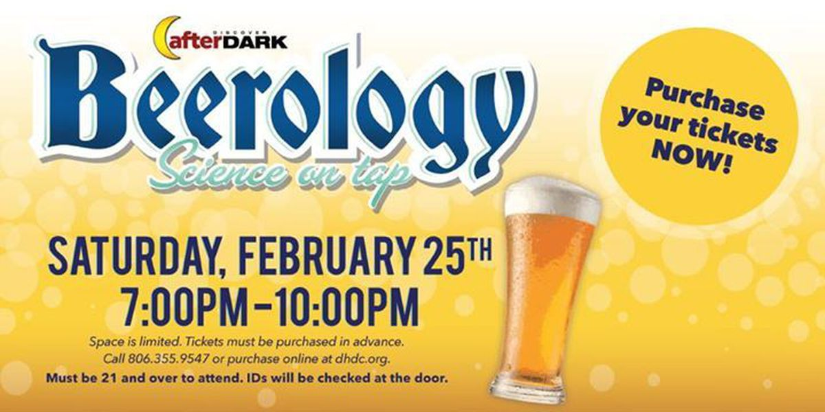 Beerology: Science on Tap this weekend