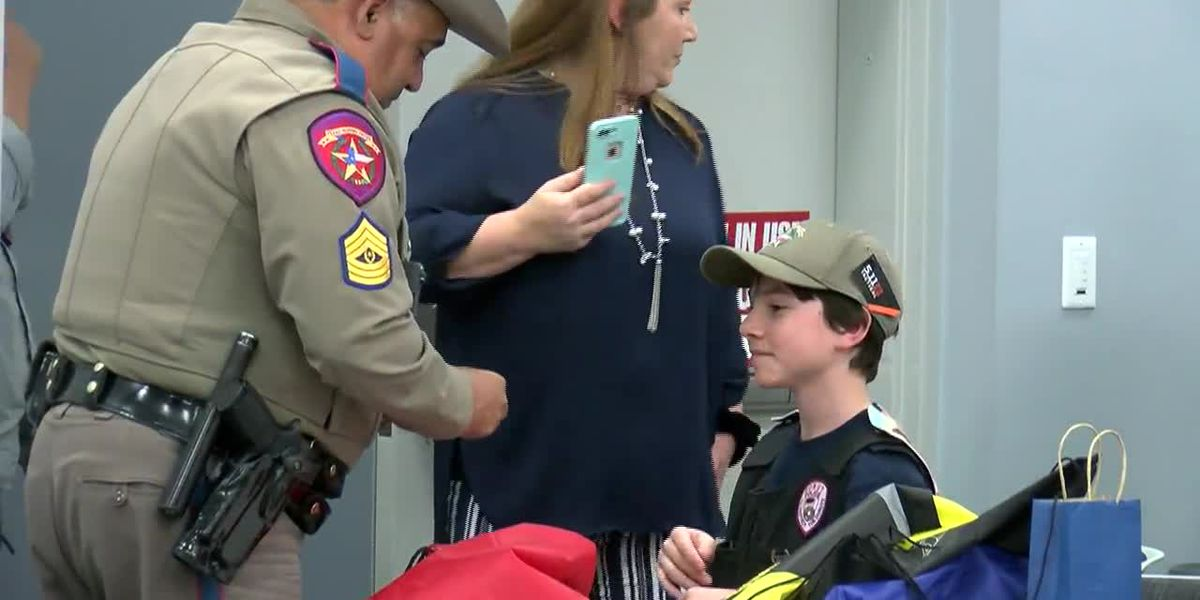 'Donut Boy' stops in Amarillo to honor area law enforcement in nationwide mission