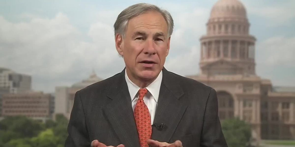 Governor Abbott declines to throw first pitch at Rangers game due to MLB's 'false narrative' on voter integrity laws