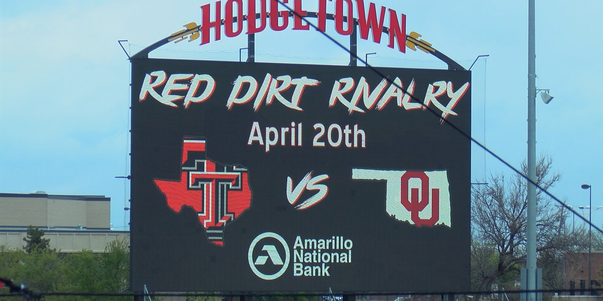 VIDEO: Red Dirt Rivalry, HODGETOWN'S first collegiate baseball game, features two Big 12 rivals
