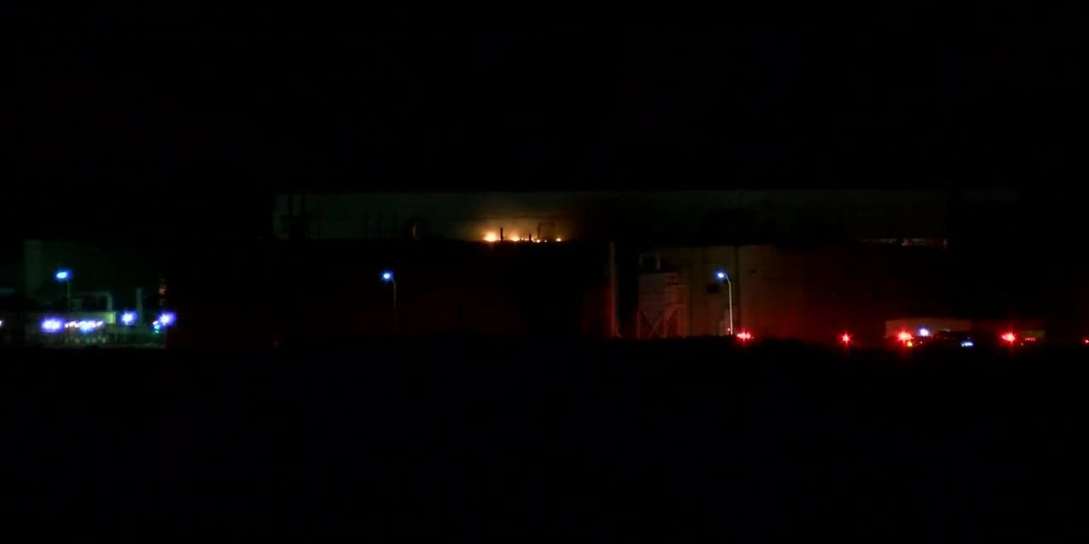 Crews battle fire at metal refinery northeast of Amarillo