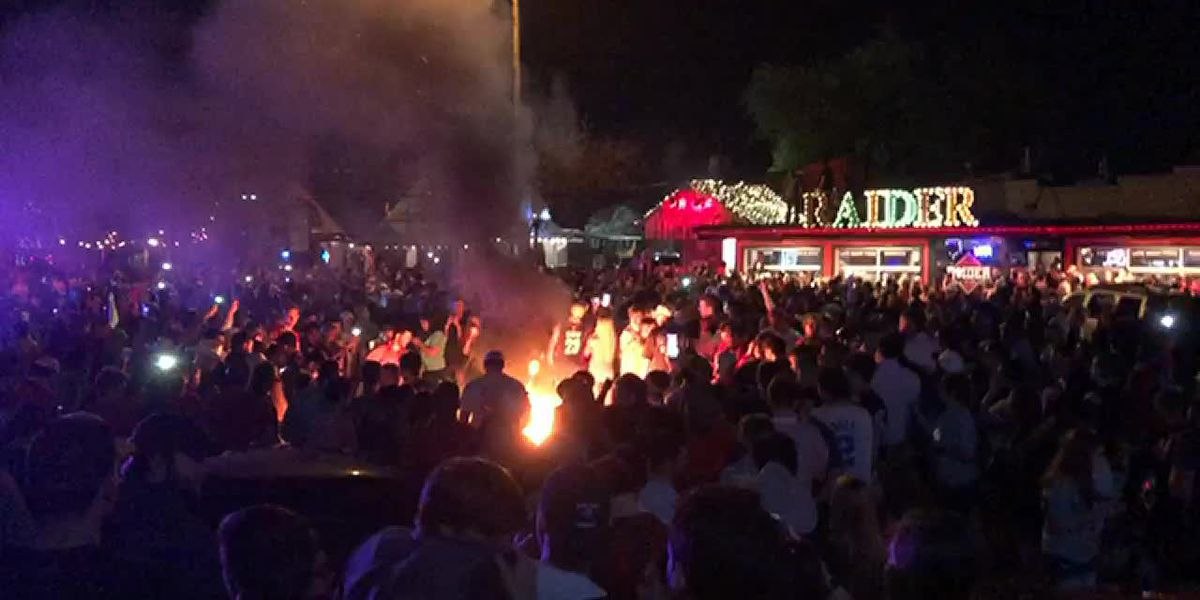 Five charged with rioting in April 6 Final Four celebration