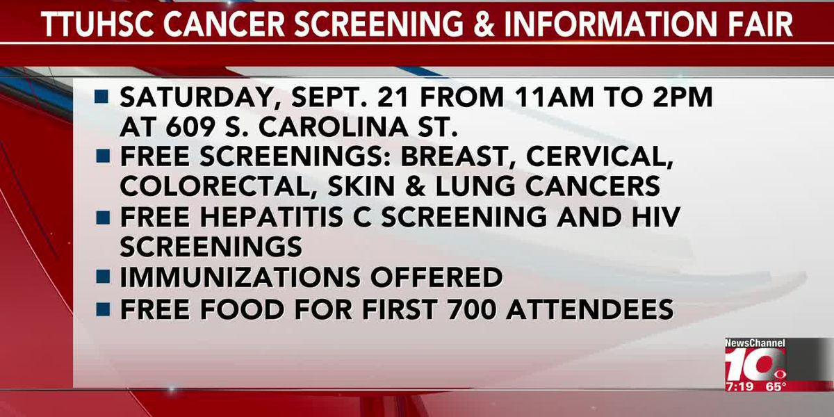 INTERVIEW: Michelle Balducci gives important information about the Texas Tech cancer screening fair