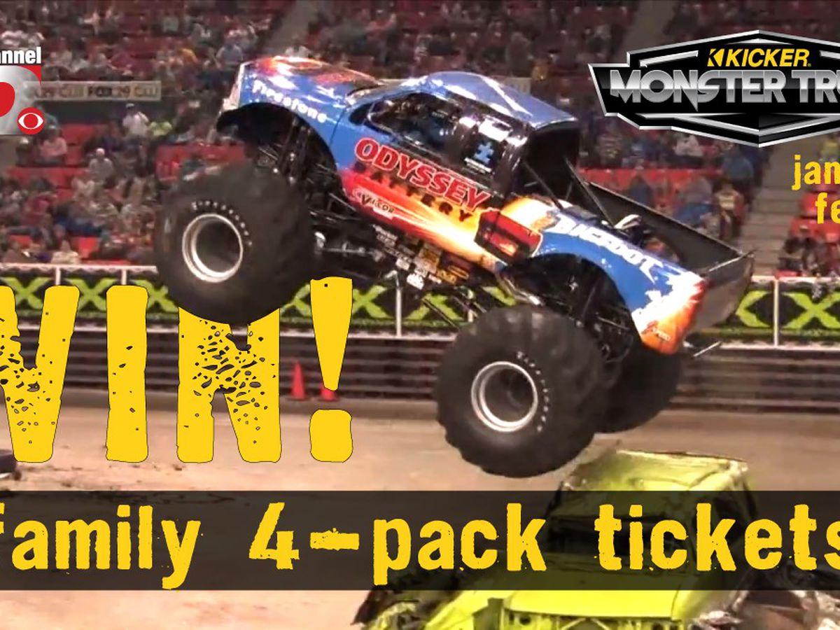 NewsChannel 10 Kicker Monster Truck Nationals Ticket Giveaway