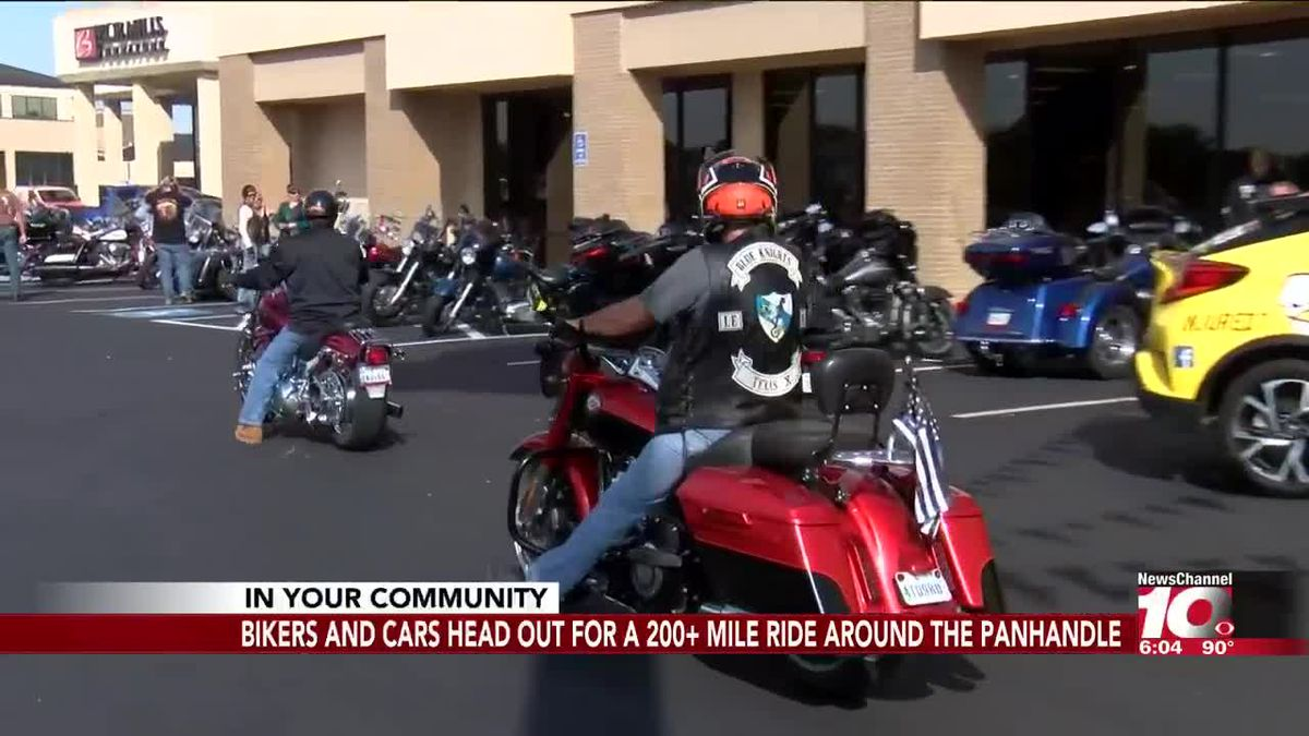 Area bikers gather for Rumble on the Range