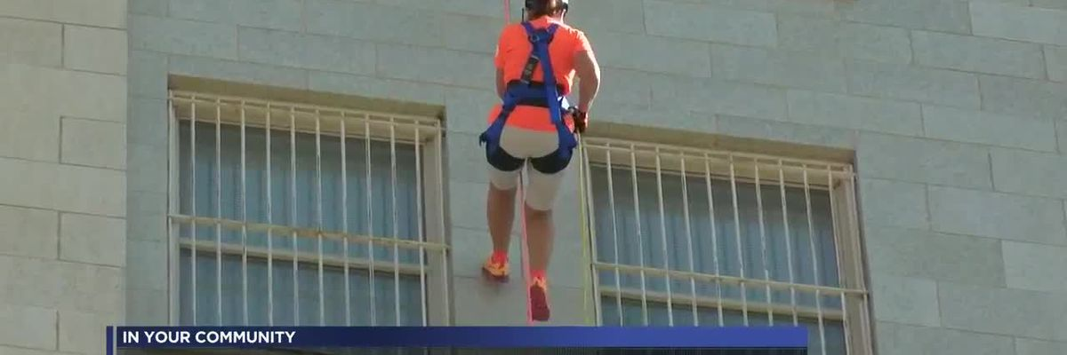Over the Edge raises funds for Family Support Services