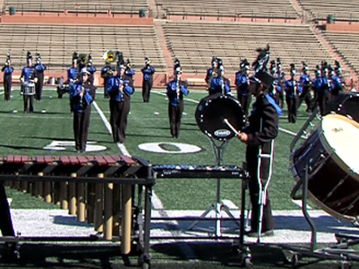 Marching bands from 38 schools to participate in marching band contest this weekend