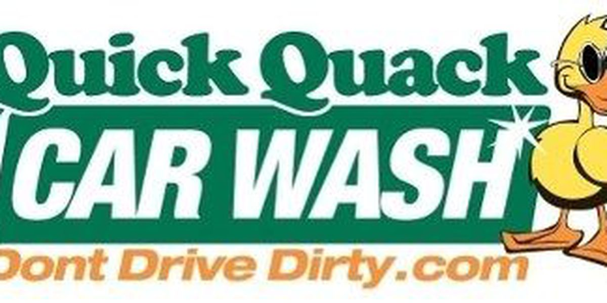 Quick Quack celebrates new Amarillo location with 10 days of free car washes