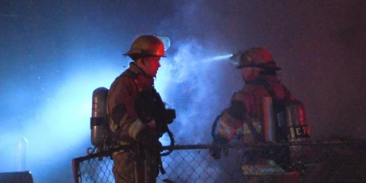 Two families are without a home after a Tuesday morning house fire