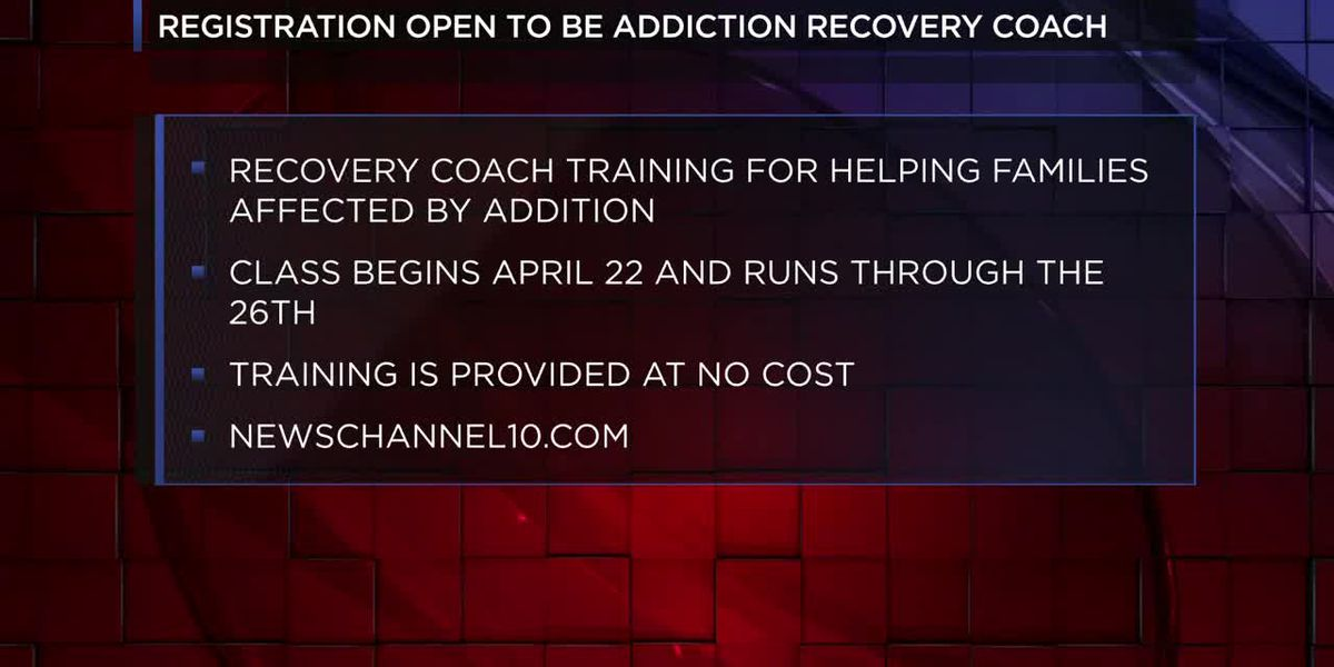 Registration open to become addiction recovery family support coach