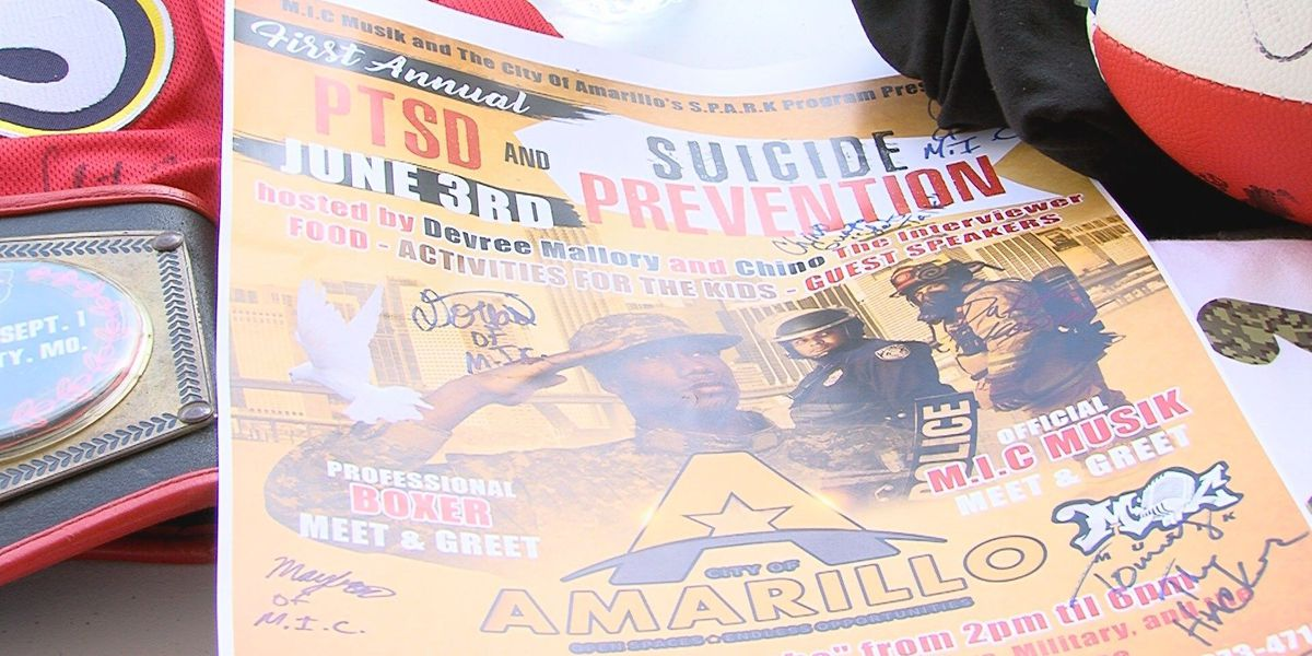 M.I.C. Musik raises awareness for PTSD and suicide