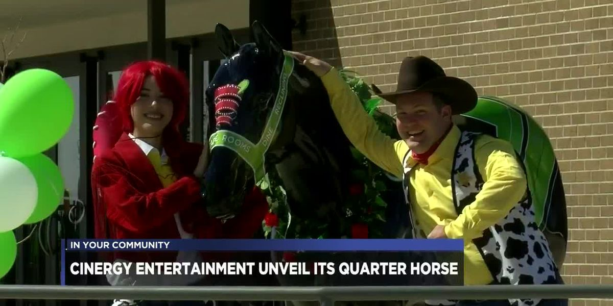 Cinergy Entertainment unveil their American Quarter Horse, Flicks