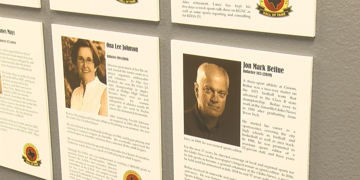 Five new members inducted into Panhandle Sports Hall of Fame