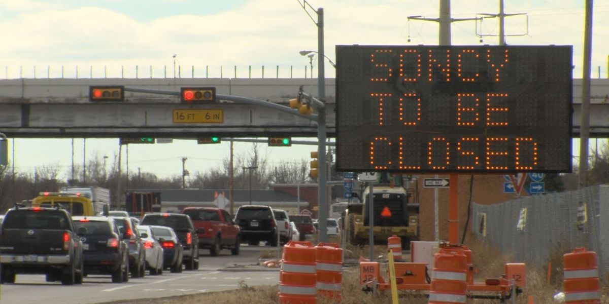 Weekend delays expected at Soncy and I-40 for bridge demolition