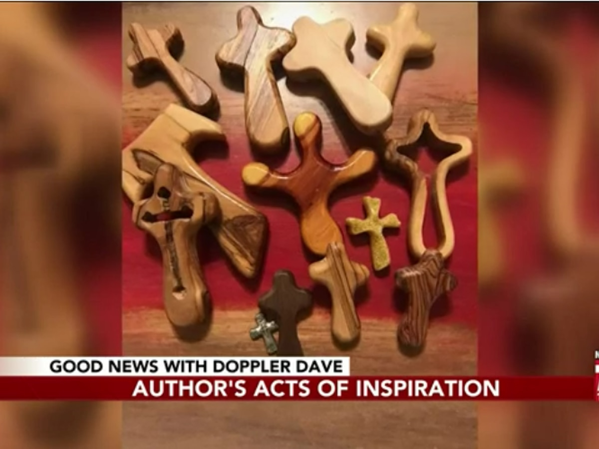 Good News: Author uses wooden crafts to help inspire others in tough times
