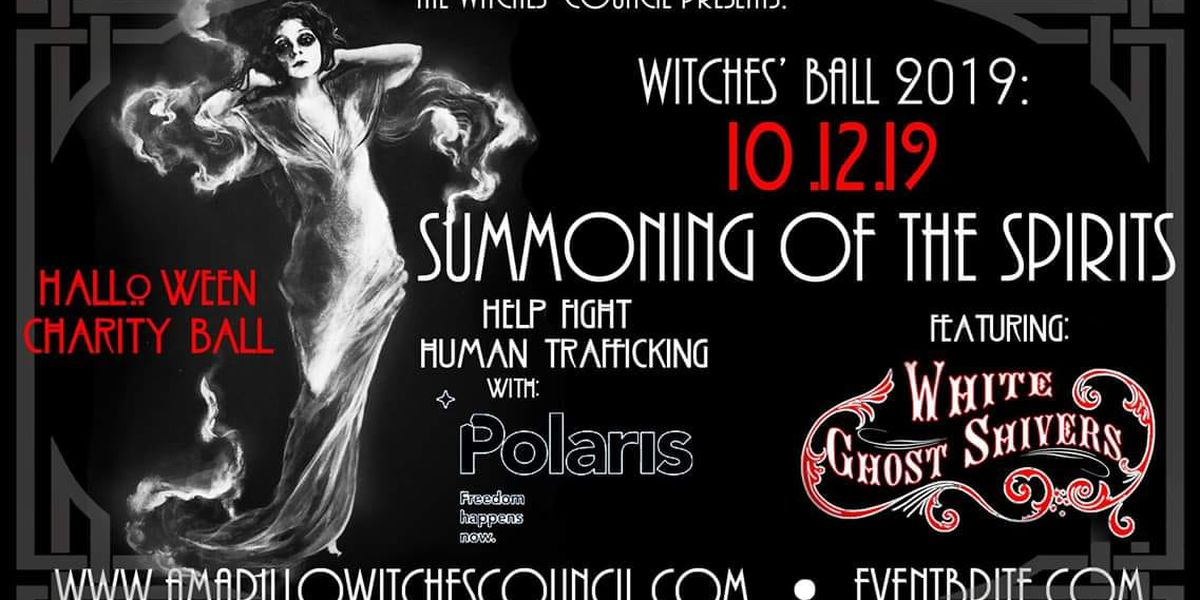 The Witches' Ball 2019 to benefit Polaris Project