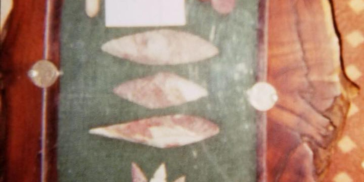Crime stoppers offering reward for stolen Indian artifacts